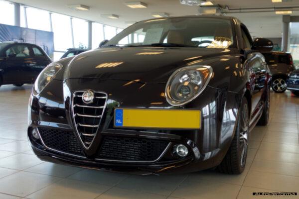carbon splitter for Alfa Romeo Mito by Autoperforma