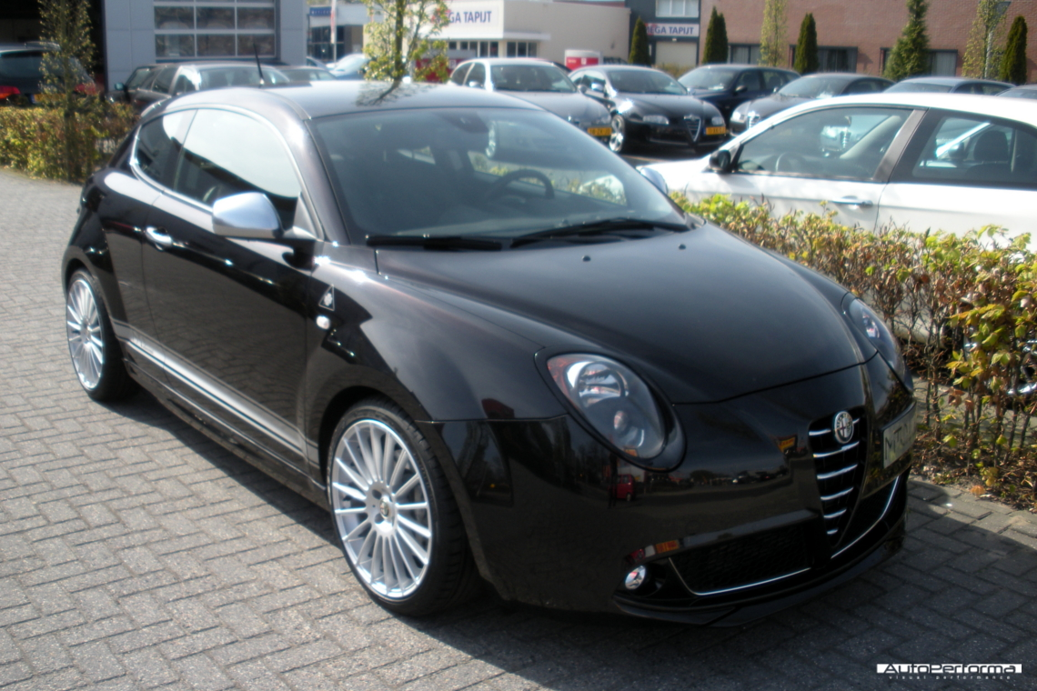 alfa romeo mito duecento autoperforma visual performance. Black Bedroom Furniture Sets. Home Design Ideas