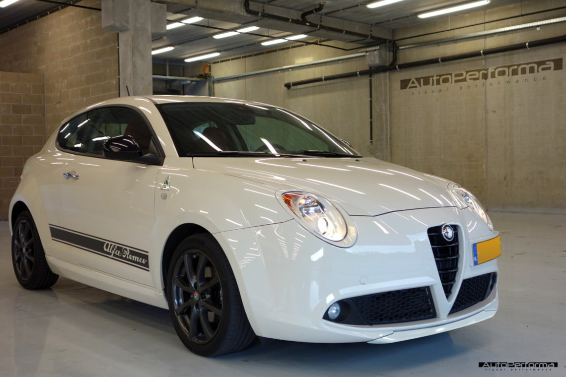 alfa romeo mito bodykit autoperforma visual performance. Black Bedroom Furniture Sets. Home Design Ideas