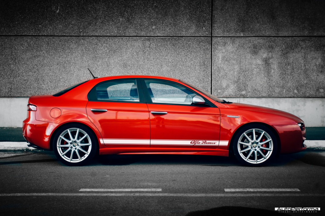 Striping Alfa Romeo Autoperforma Visual Performance